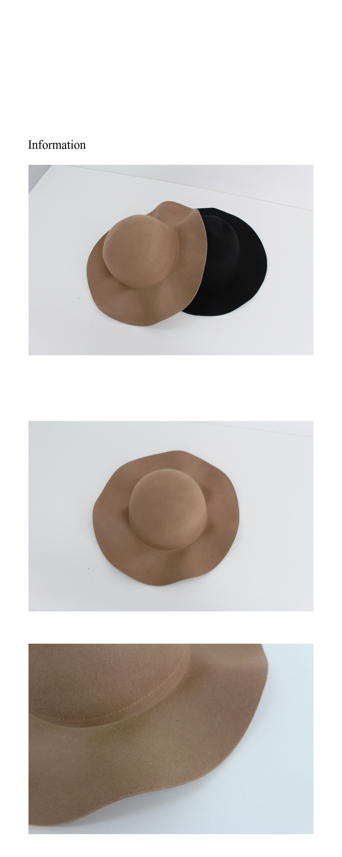 Fall hat ; 2 color BEST ♥
