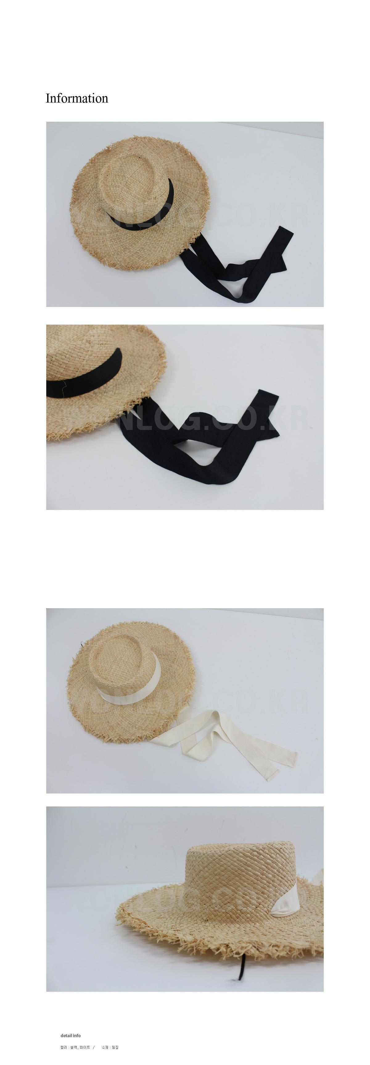 Ribbon hat ; 2 color