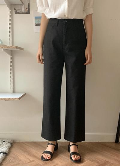 Dusty Wide Cotton Pants