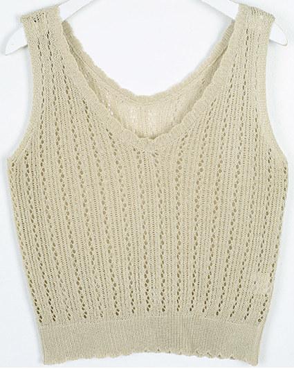 eddy knit sleeveless