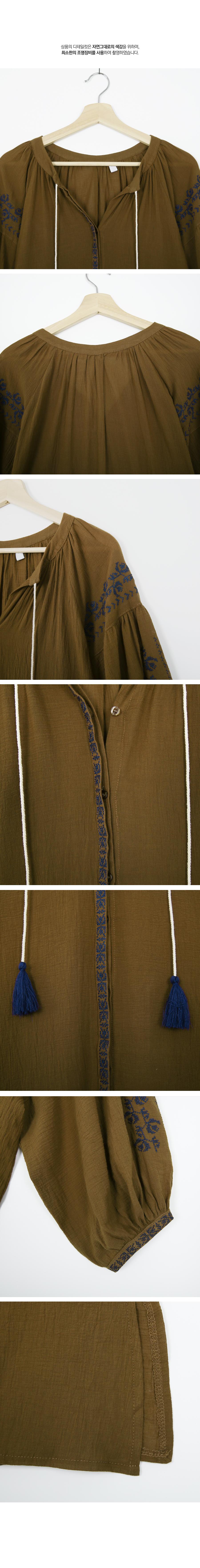 Aladdin Ethnic Tassel Dress