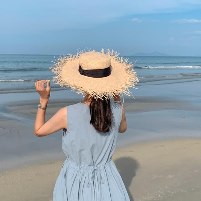 Wide Beach Hat