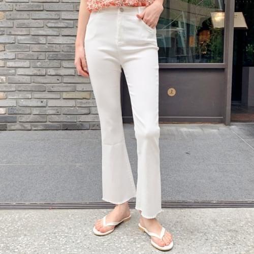 Super Span Boots Cut Cotton Pants