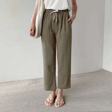 Basic Linen Bending Pants
