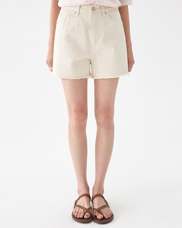 clean denim short pants (s, m, l)