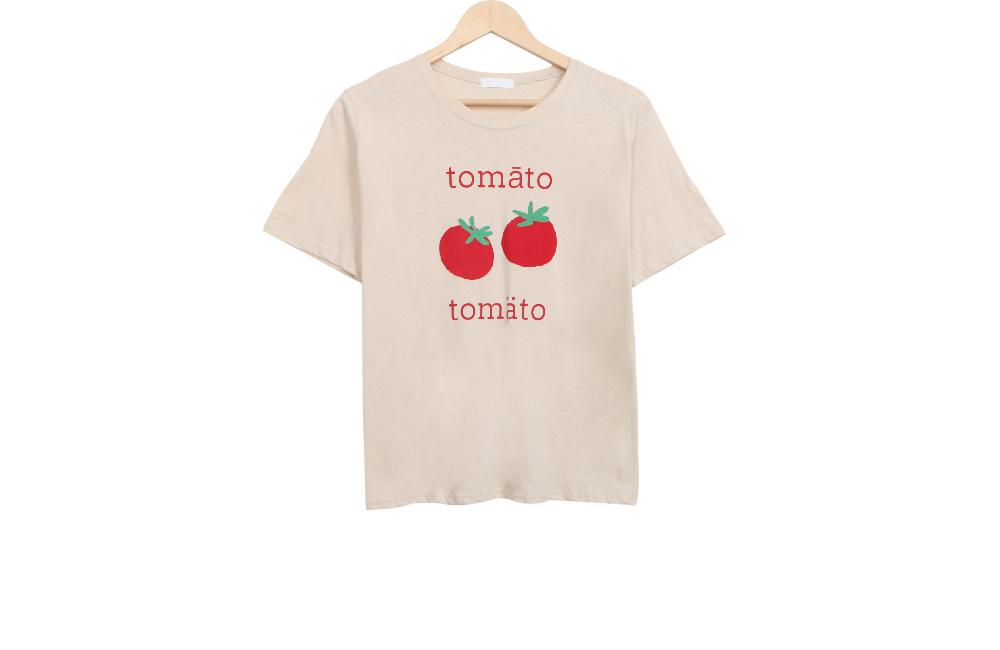 Tomato short sleeve T
