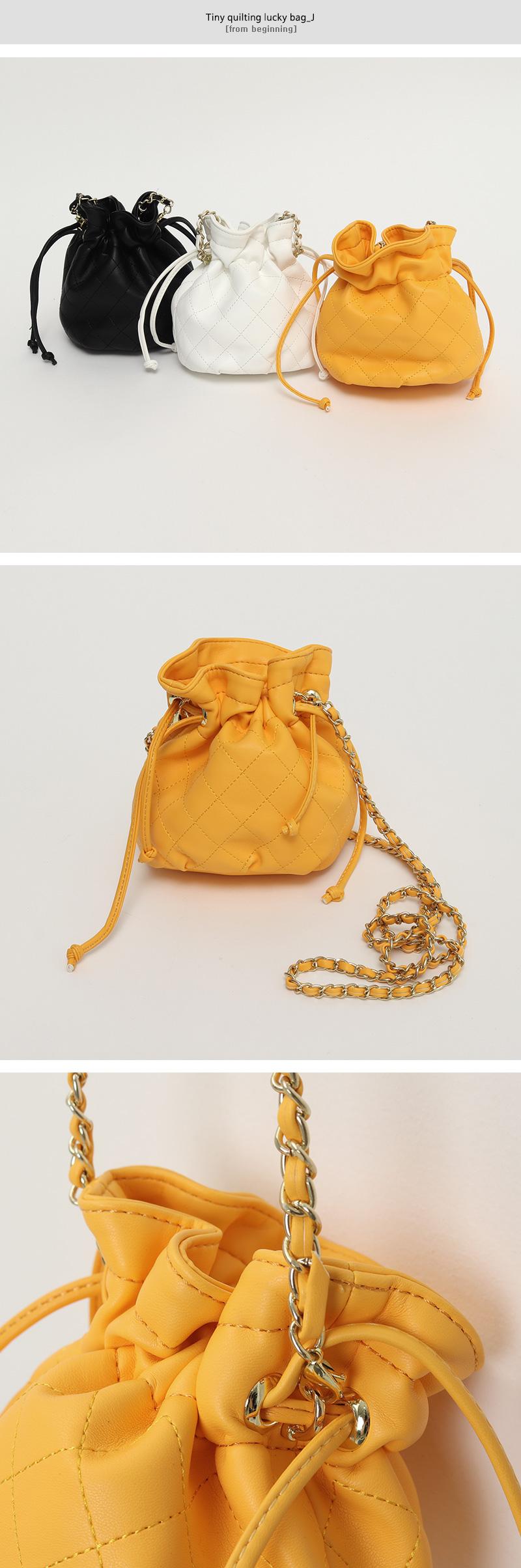 Tiny quilting lucky bag_J