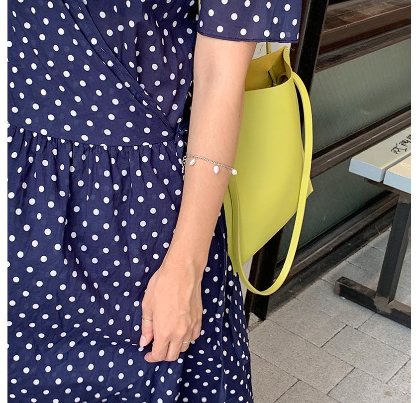 Water drop pearl bracelet_Y
