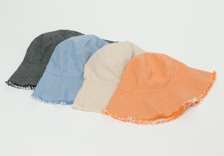 Denim two-way bucket hat_H