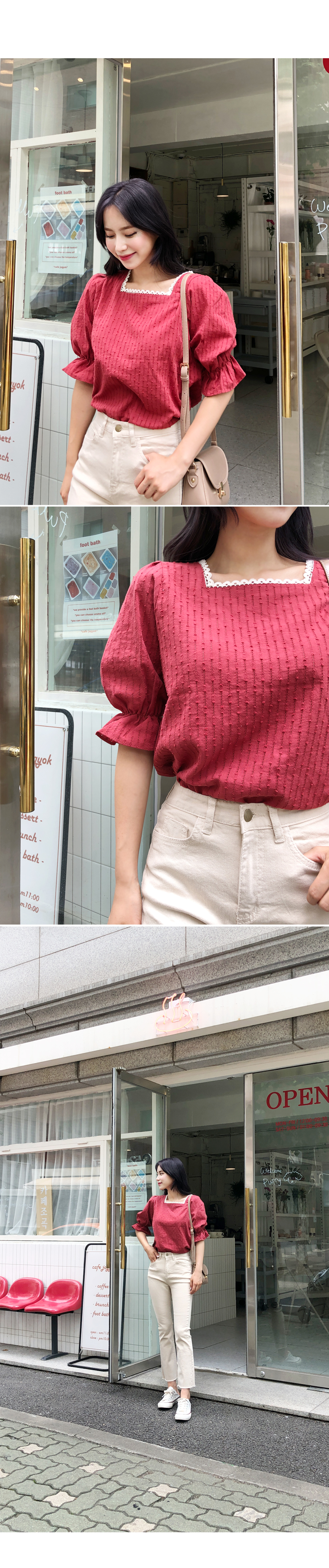 Daily style pants
