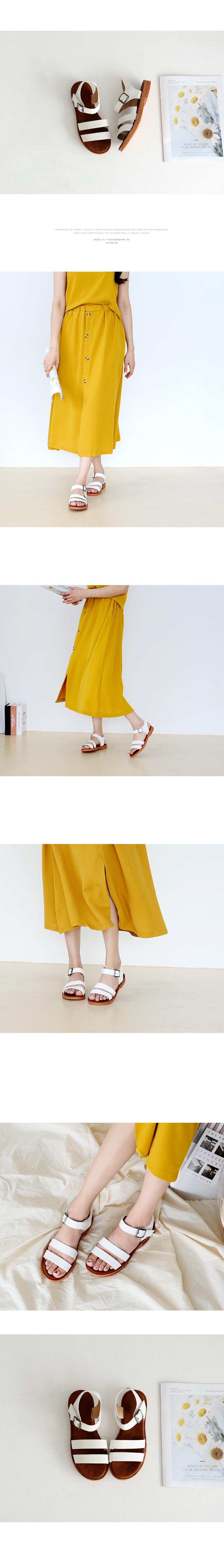 Daven strap sandals 2cm