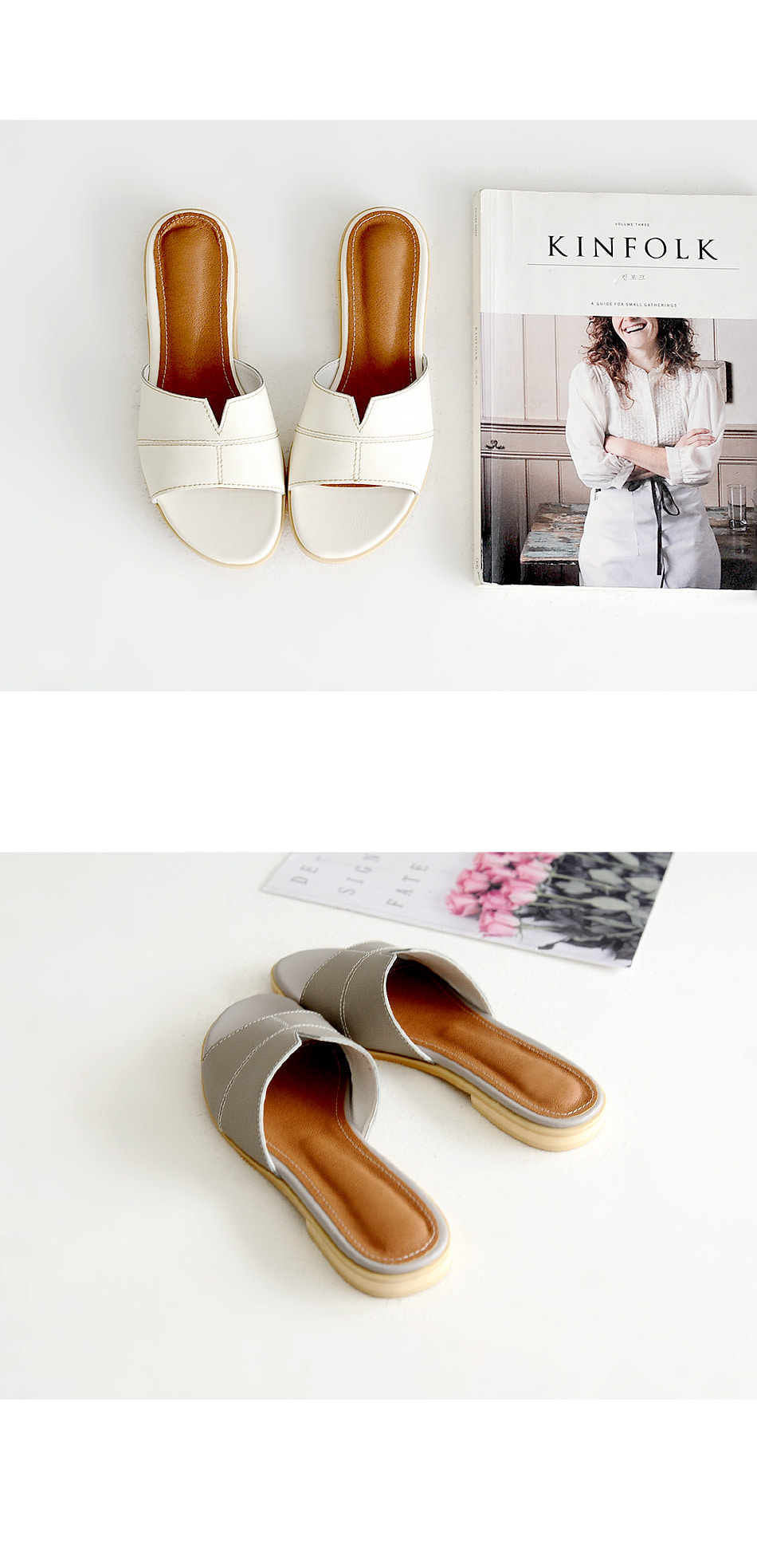 Lee Kelean Slippers 2cm