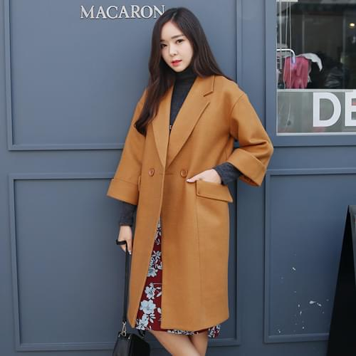Long sleeved cotton coat