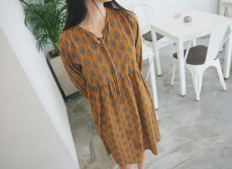 Mabel pattern dress