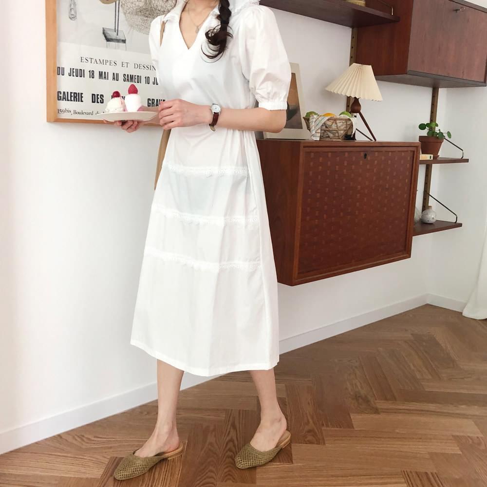 Mochi puff dress