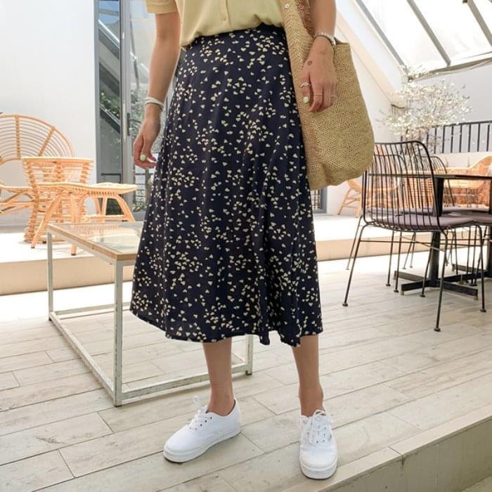 Mini Heart A-Line Skirt