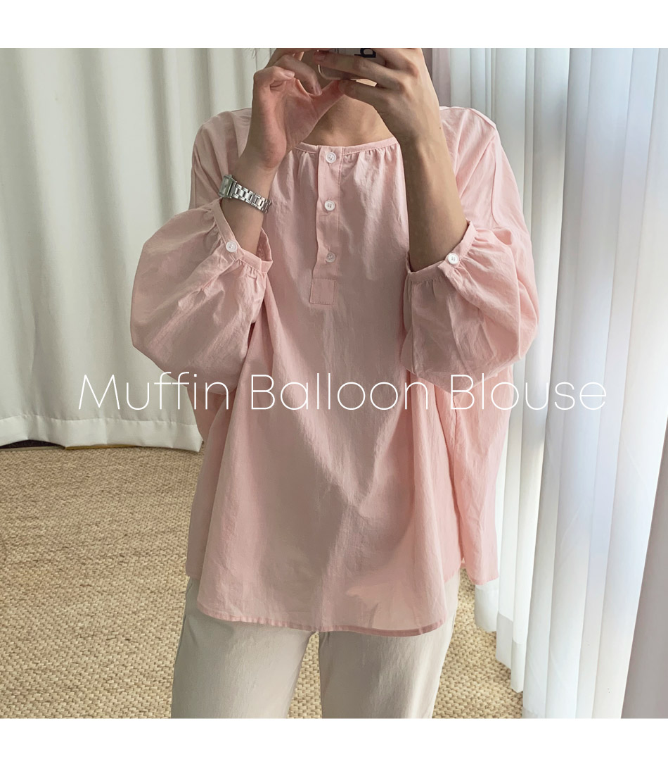 Muffin Balloon Blouse _H