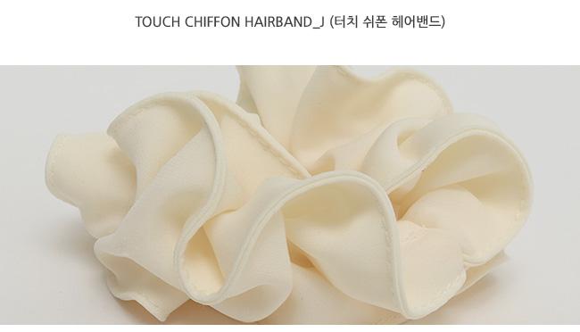Touch chiffon hairband_J