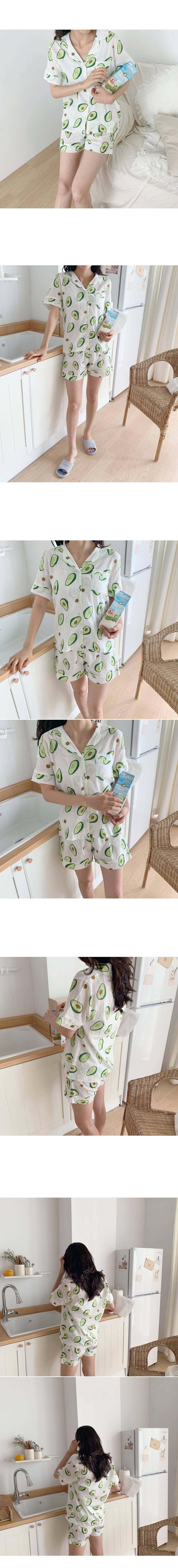 Avocado Pajama Set _Y