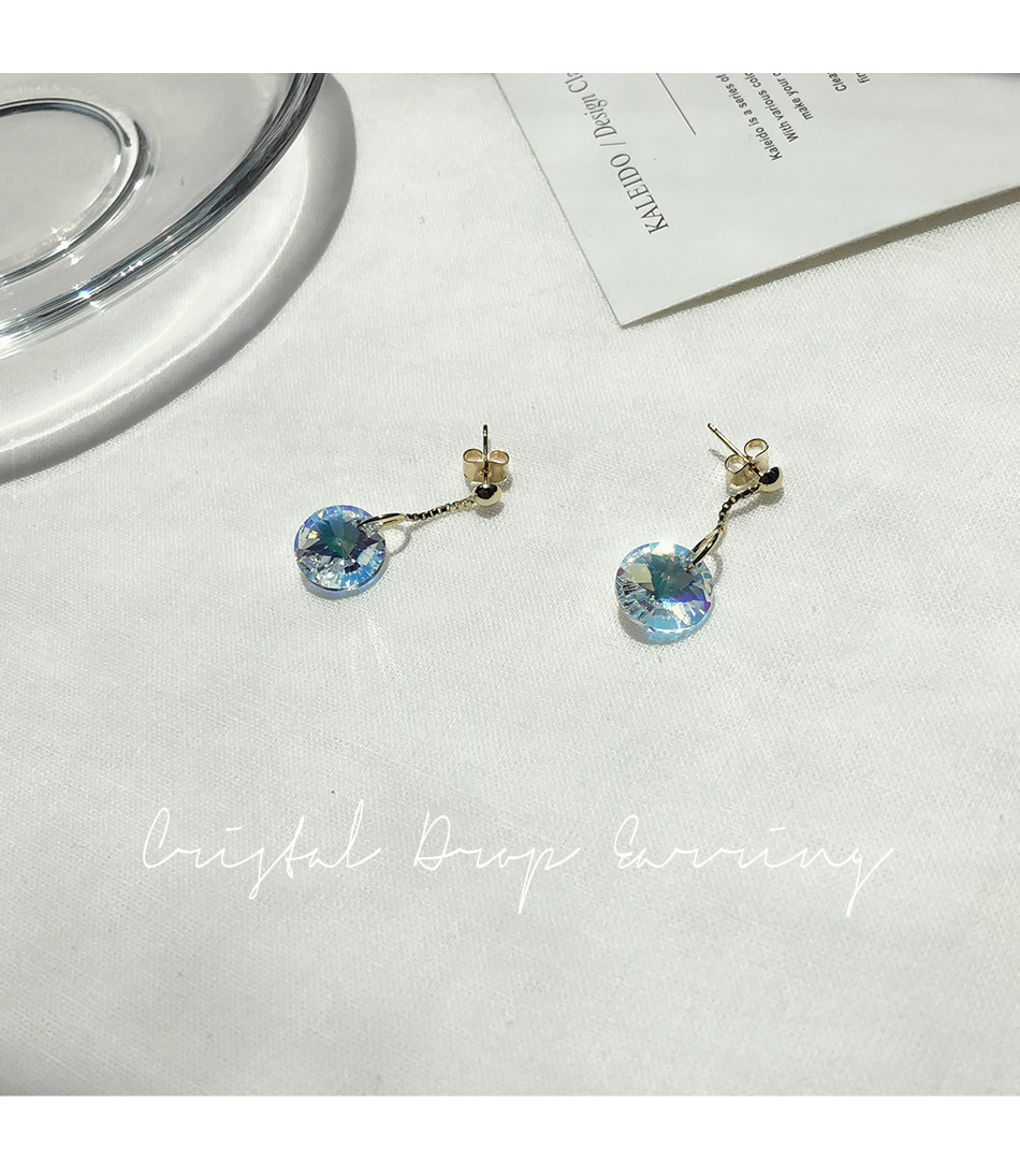 Crystal Drop Earring _R
