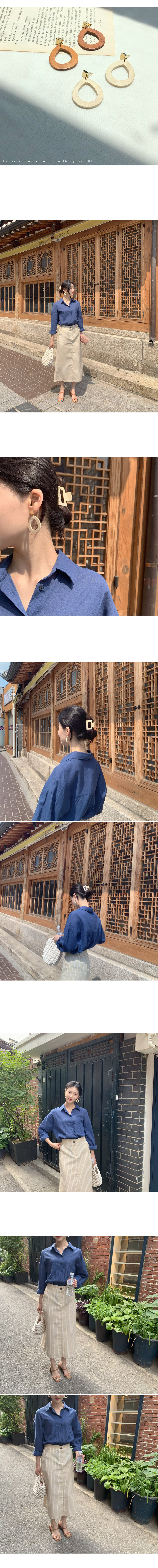 Classic Wood Earrings_Y