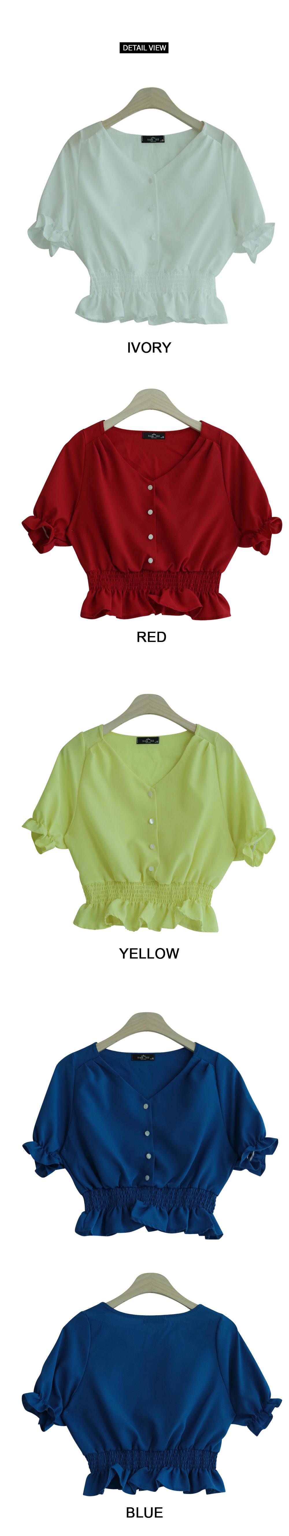 Tocking short blouse