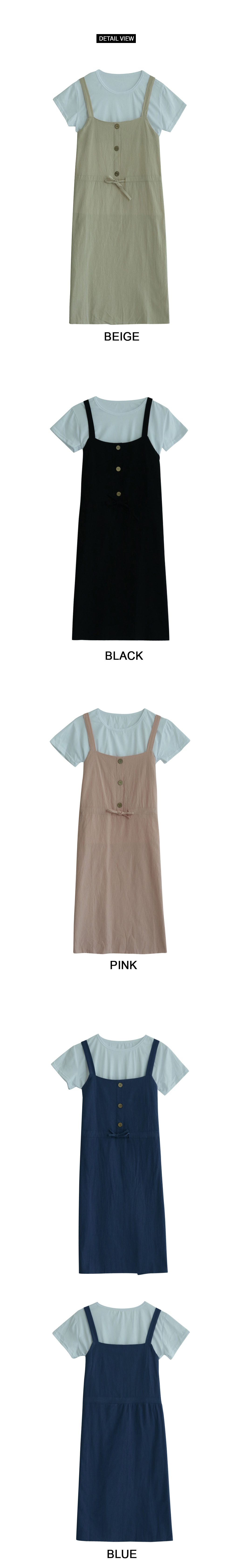 Smile Four Button Dress