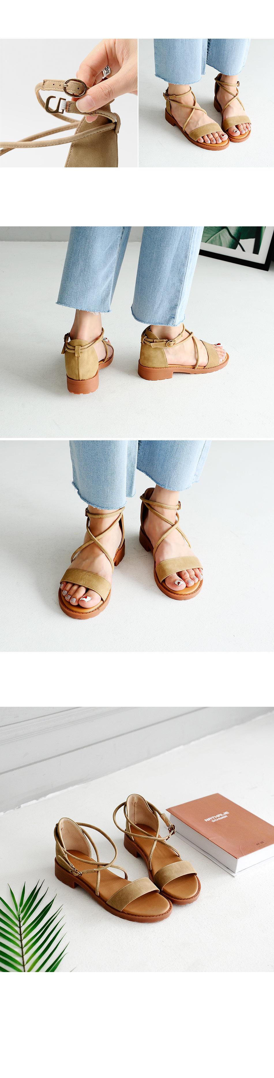 Robinin strap sandals 3cm
