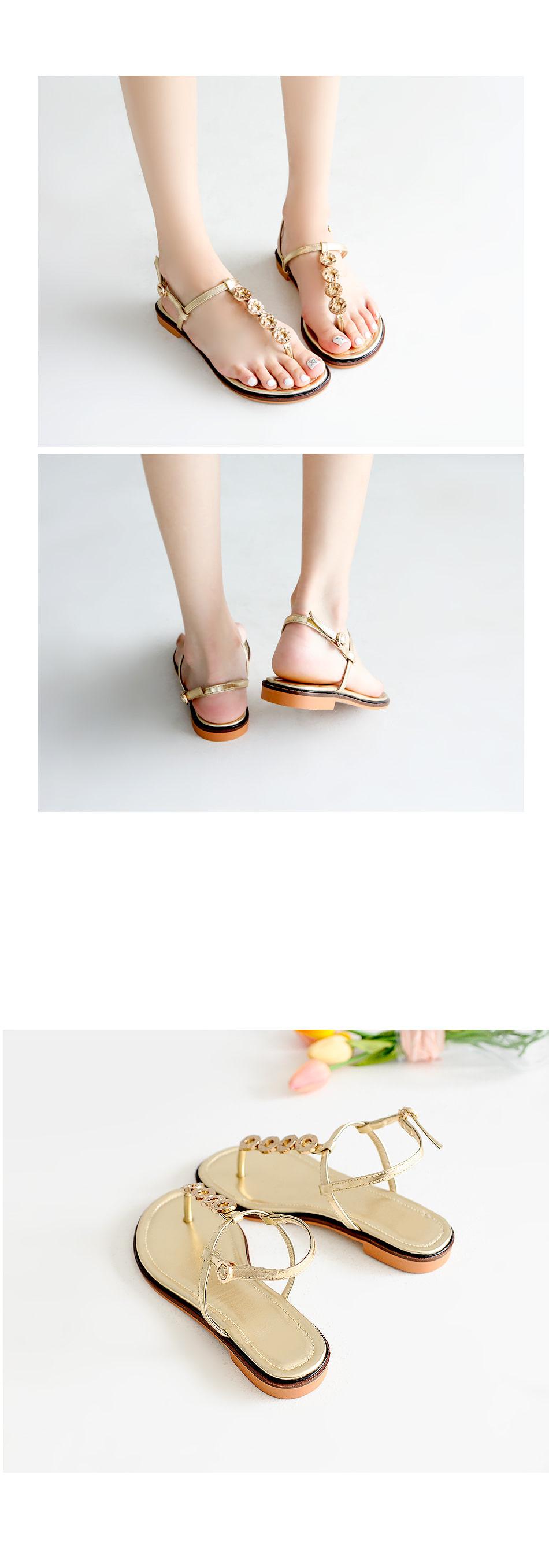 Webby Aircrew Slingback Sandals 1cm