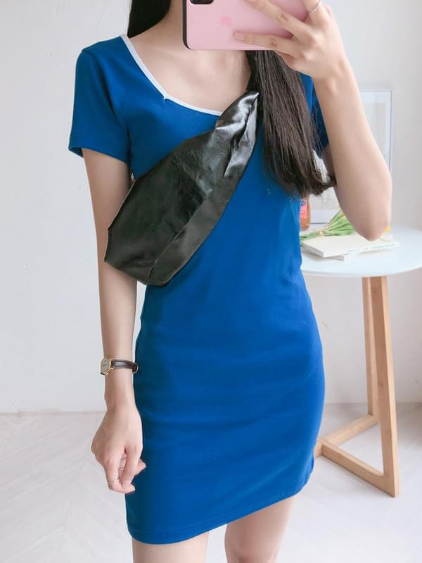Marine Square Dress