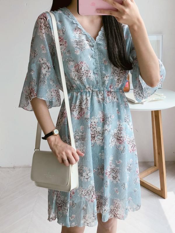 Blossom Chiffon Dress