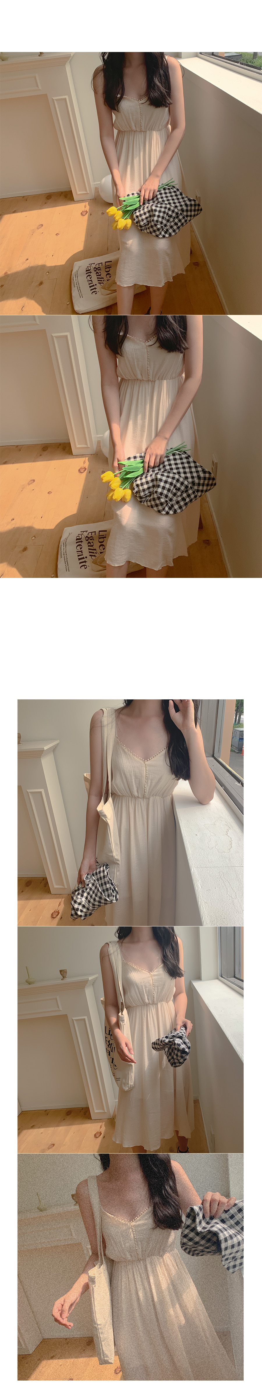 Kimo Pom foam nail dress