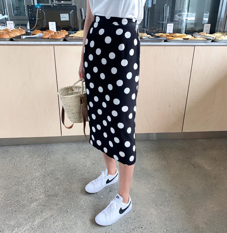 Dot-bending skirt