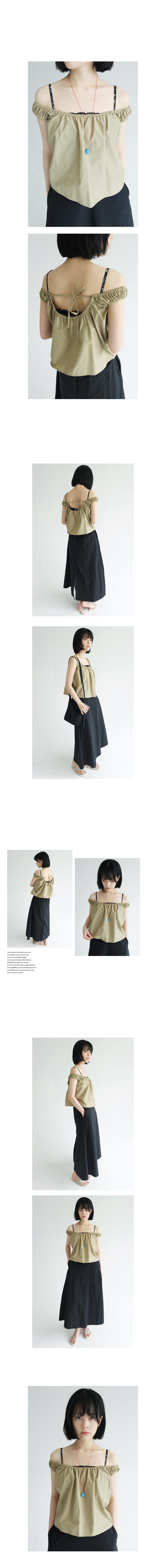 string minimal summer sleeveless