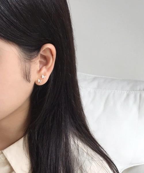 (silver925) butterfly earring