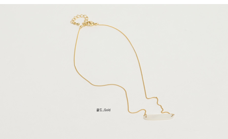 Boat pearl necklace_C