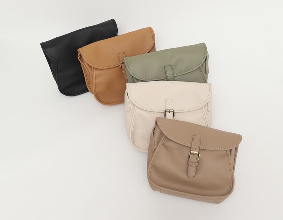 Belt buckle cross bag_C