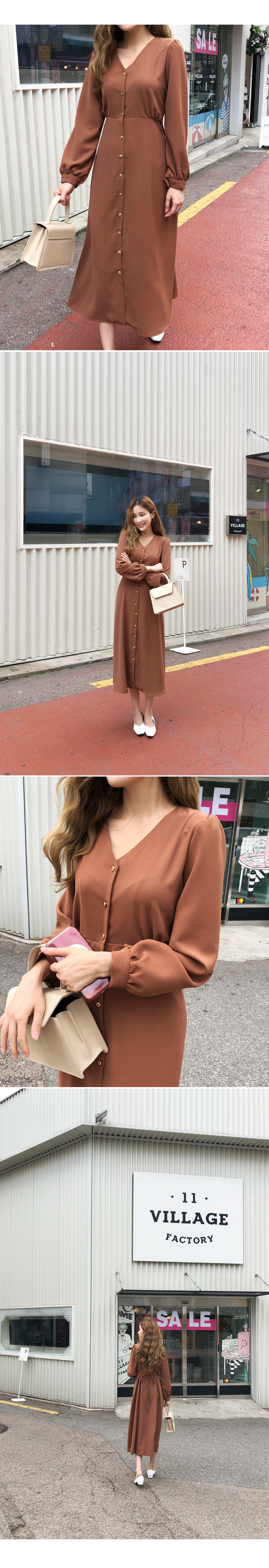 Fine American Jewelry Button Dress