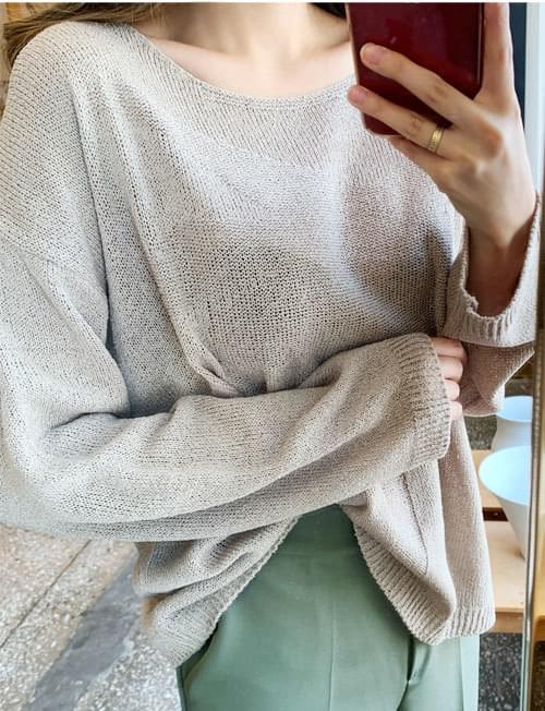 Comfortable daily pit knit
