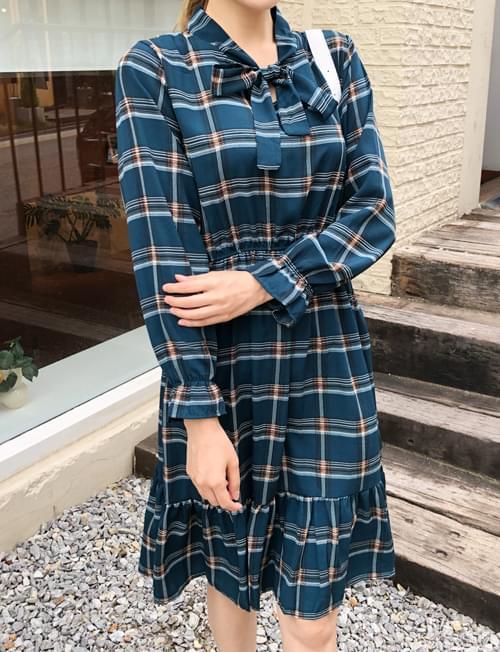 Daily check love dress