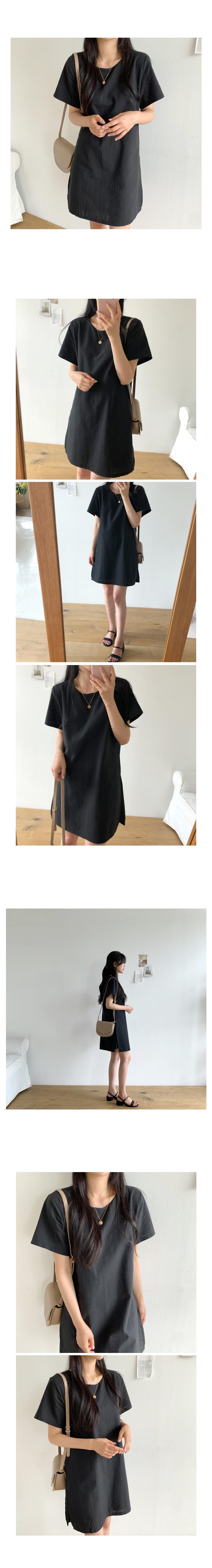 Barley linen mini dress