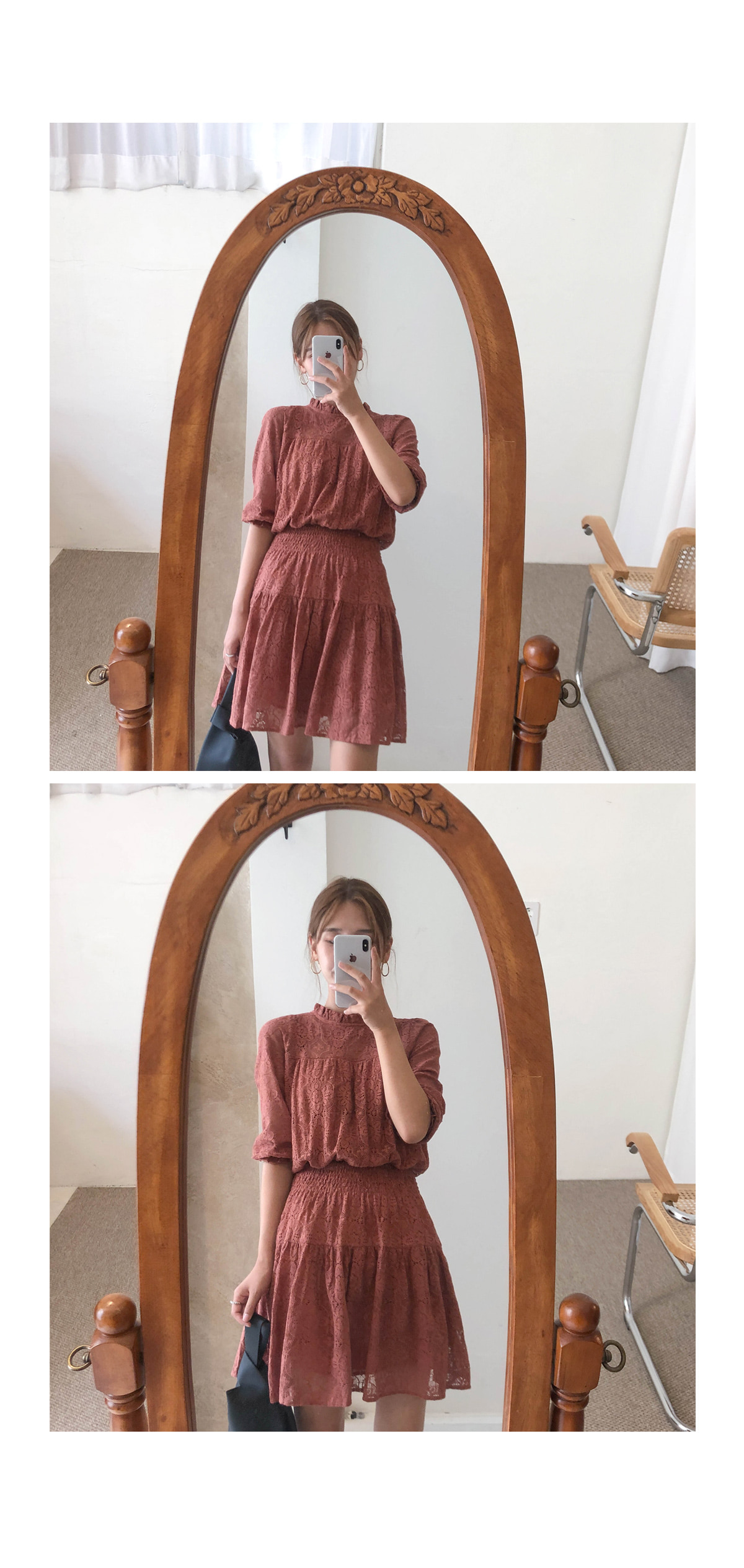 Lace Joanne Mini Dress