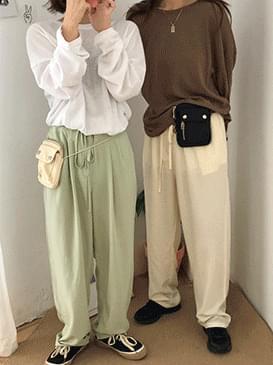(8월 2째주 입고)포켓 미니 힙&크로스백