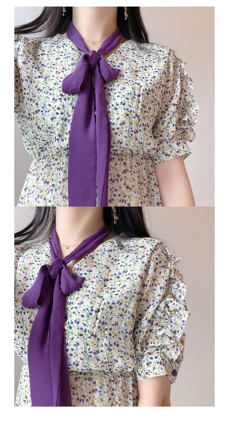 Ribbon strap set jelly flower color ops