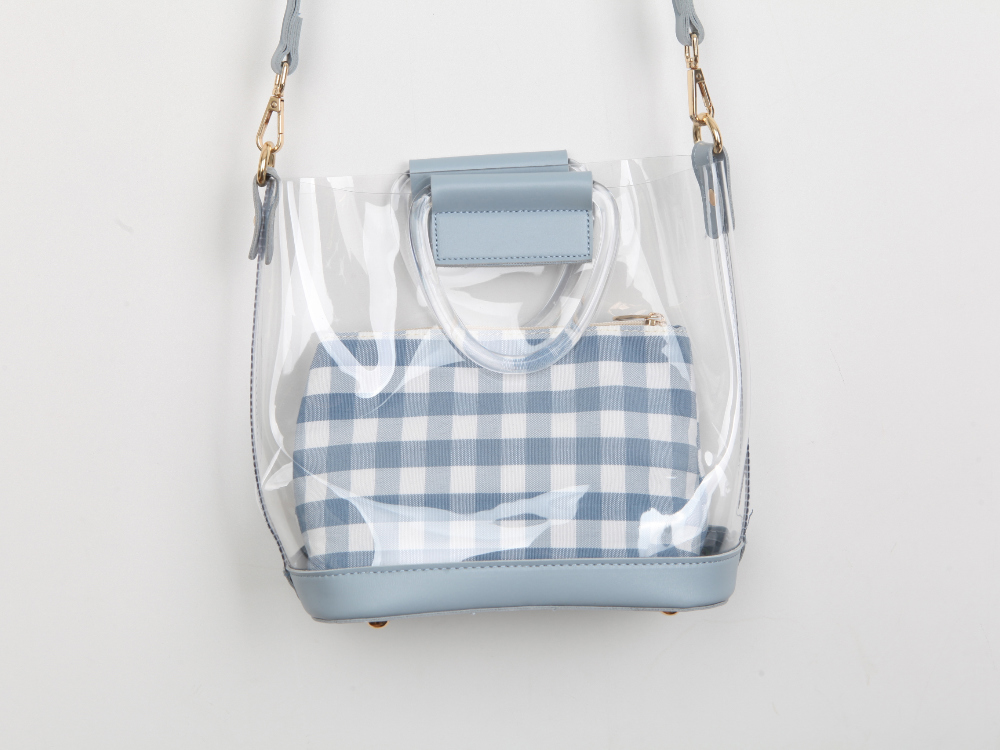 Transparent tote mini bag