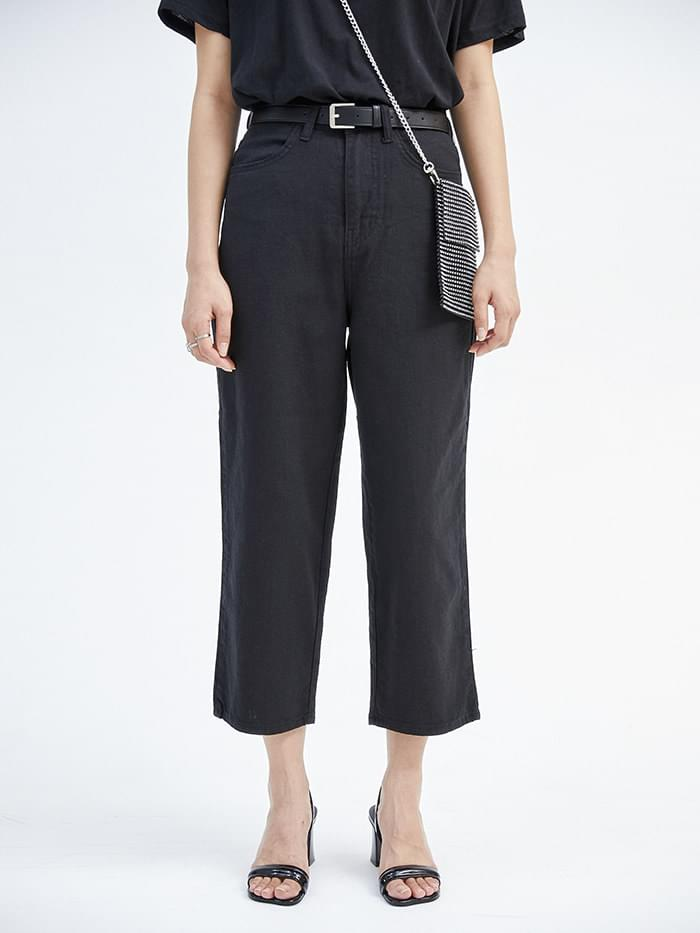 summer crop straight pants (4 color) - woman