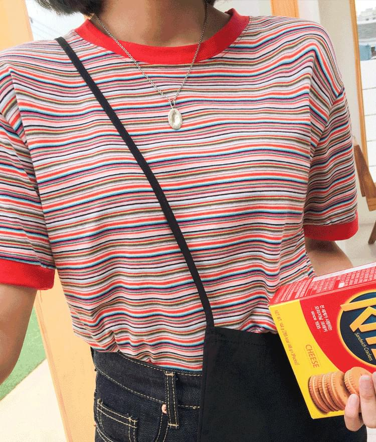 Color Rainbow Tigara T-shirt