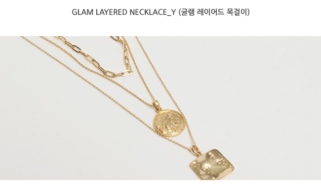 Glam layered necklace_Y