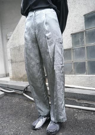 viscose rayon cargo pants