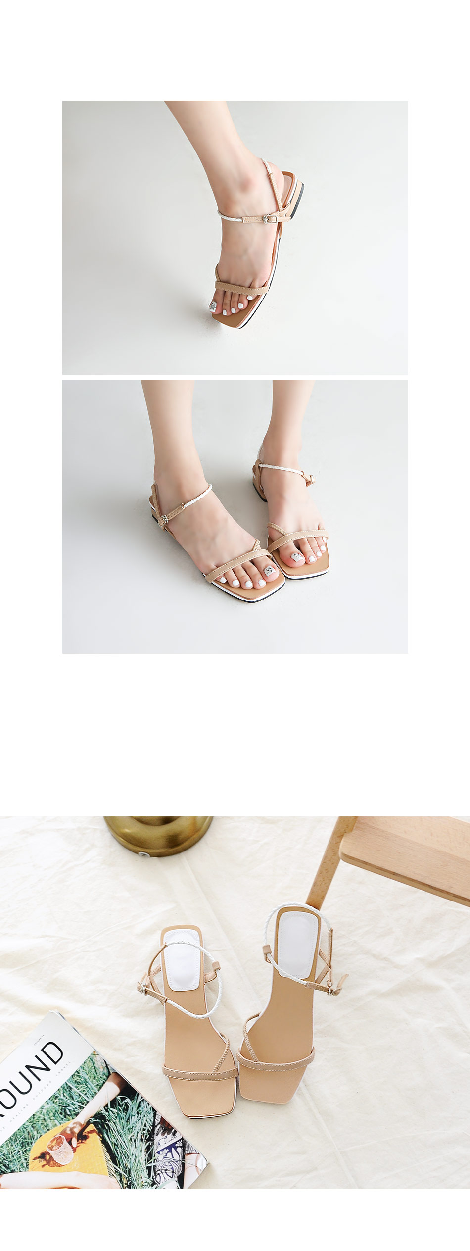 Obsess Sling Back Sandals 2cm